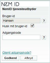 login_std_6 tegn_husk mig_brugerid