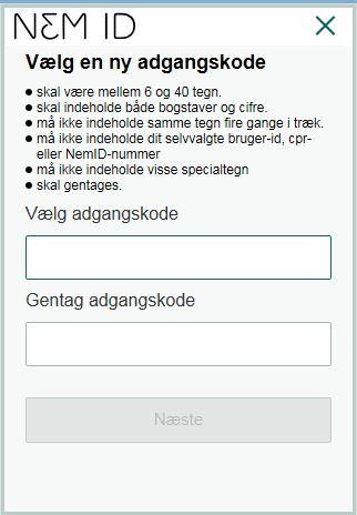 vælg type_lmt 6 tegn